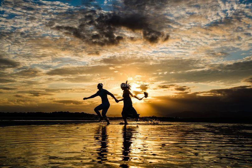 Ensaio de Pre Wedding na Praia
