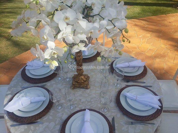 Montagem de mesa