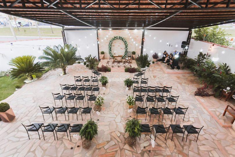 Área de cerimônia