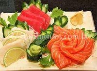 Sashimi opcional no serviço