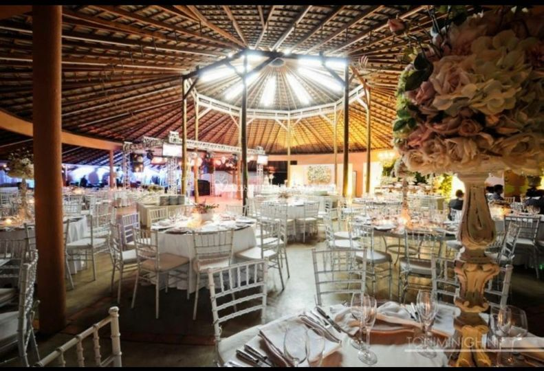 Quiosque festa de casamento