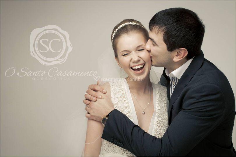 Acess�rios para noivas de O Santo Casamento Acess�rios