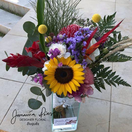 Bouquet desconstruído