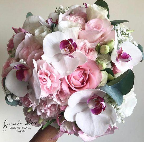 Bouquet com orquídeas