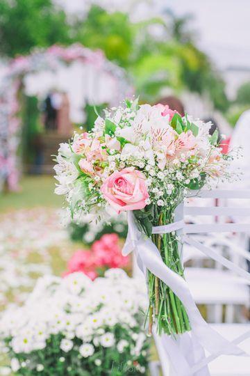 Decoração de flores - Dia