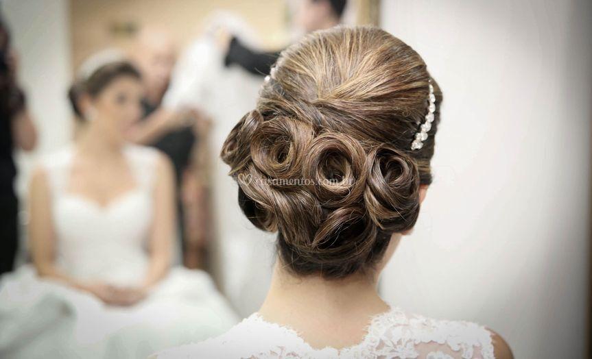 Scena beautiful bride