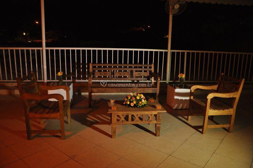 Lounge de varanda