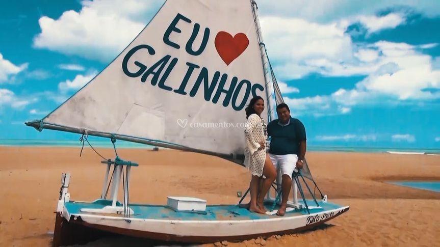 Love Story em Galinhos-RN