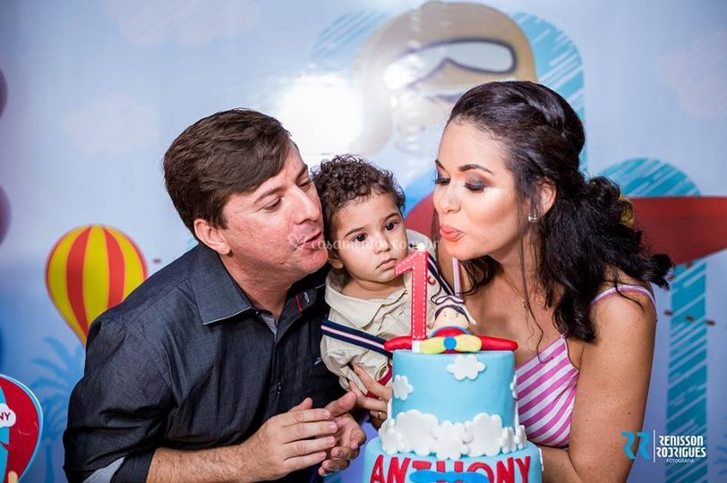 1 ano de Anthony