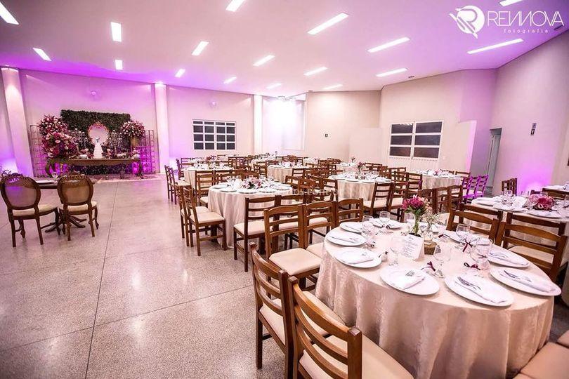 Capacidade para 300 convidados