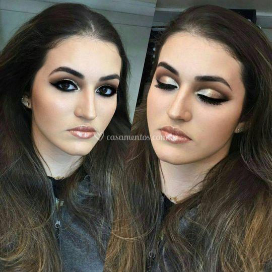 Maquiagem debutante