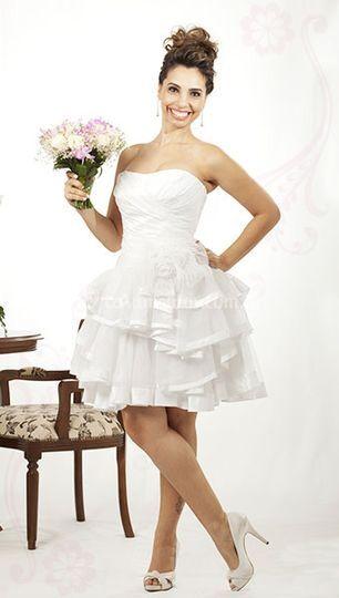 ca15aac51 Vestido grife Flávia Murta de Felicità Noivas e Acessórios | Foto 3