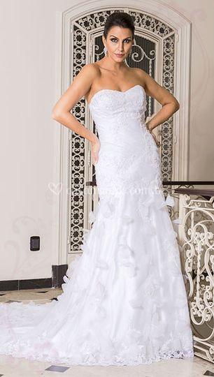 bce4ea2c6 Vestido grife Flávia Murta de Felicità Noivas e Acessórios | Foto 2