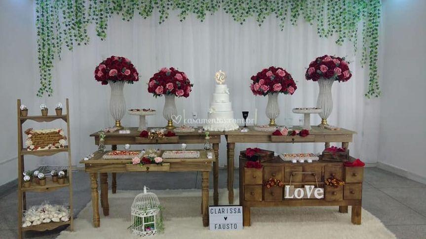 Buffet Arte sabor e Amor