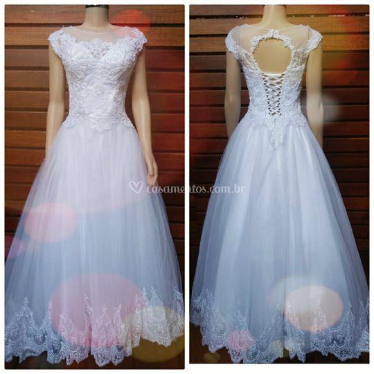 Vestido Princesa Delicado