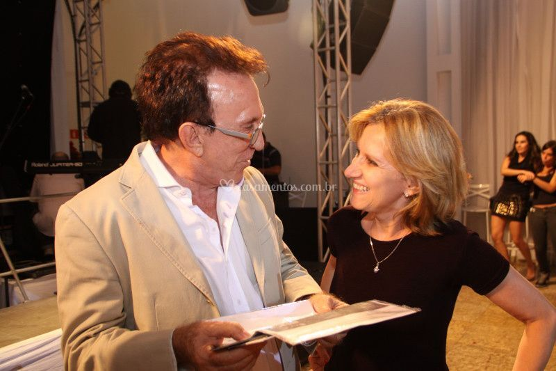 Moacyr  Franco e Malu