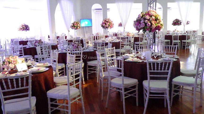 Mesa convidados