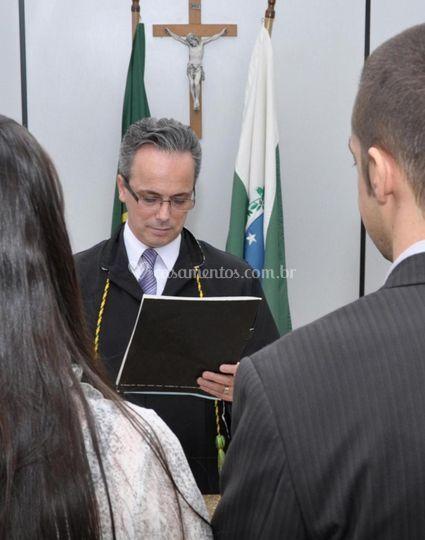 Celebrante  Juiz de Paz Robson
