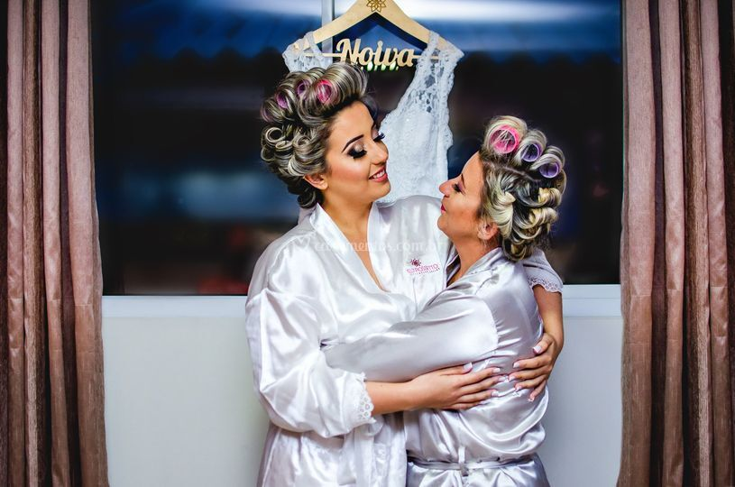 Noiva e mamãe