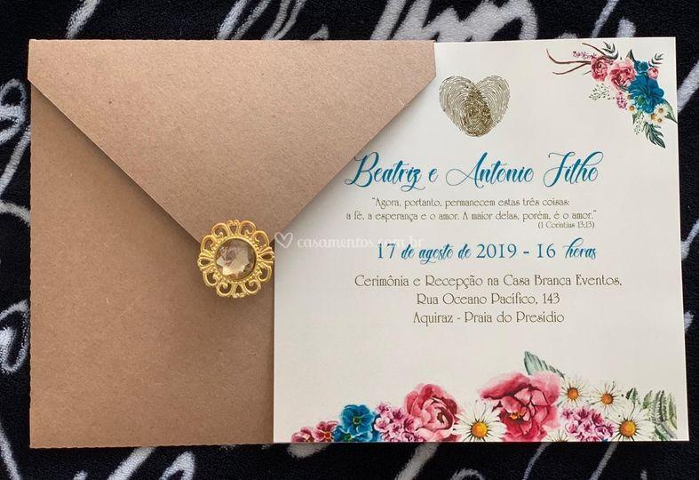 Convite Classico