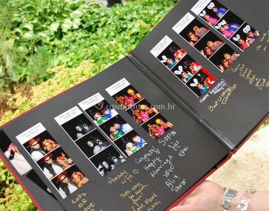 Álbum de fotos - casamentos
