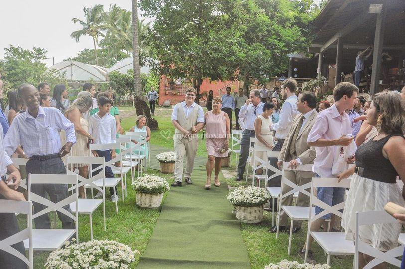 Casamento realizado