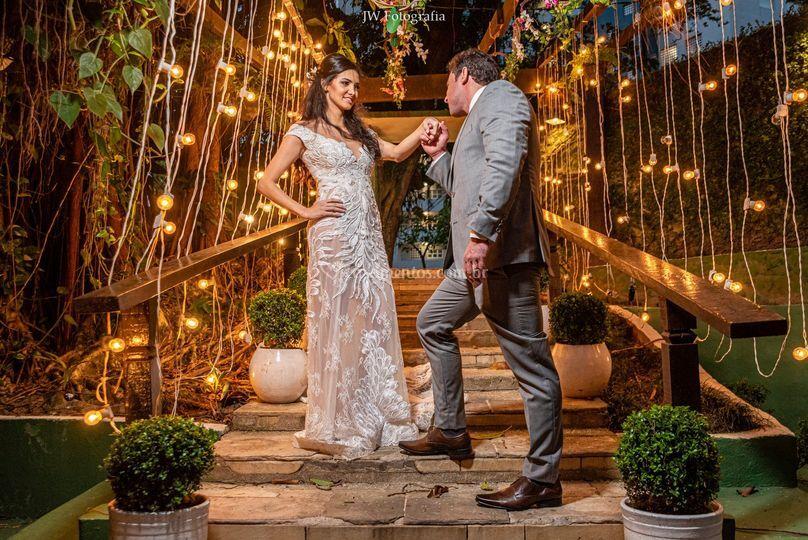 Externa dos noivos