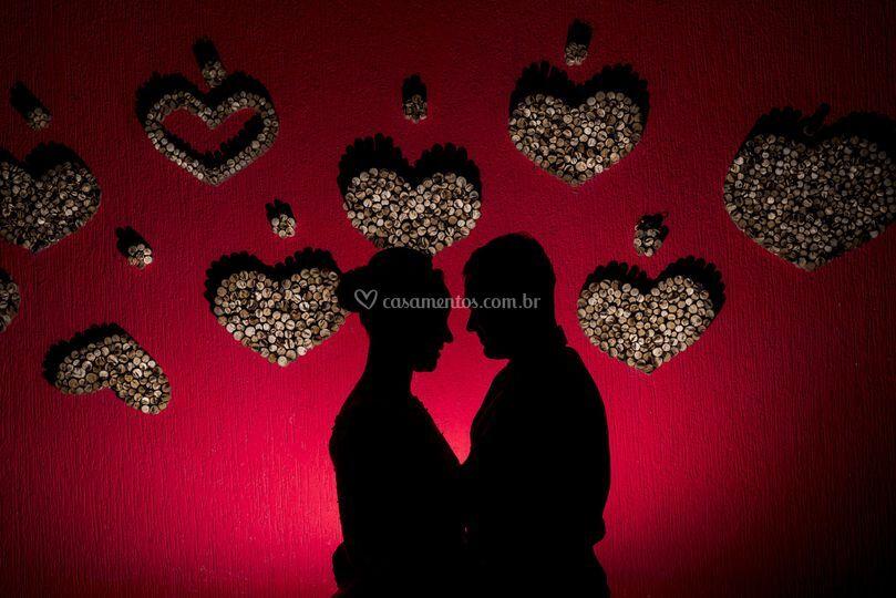 Externas dos noivos