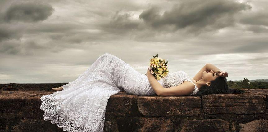 Luxo de noiva