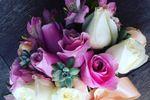 Buquê de Rosas e Suculentas