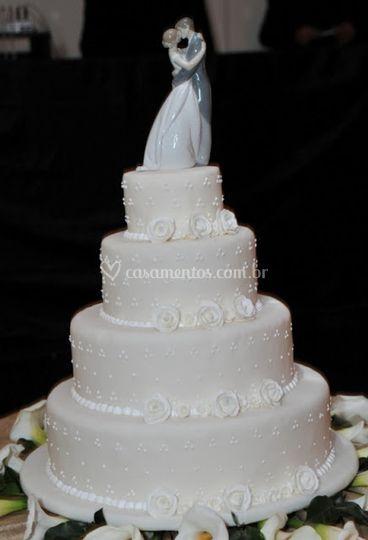 Variedade de topos de bolo