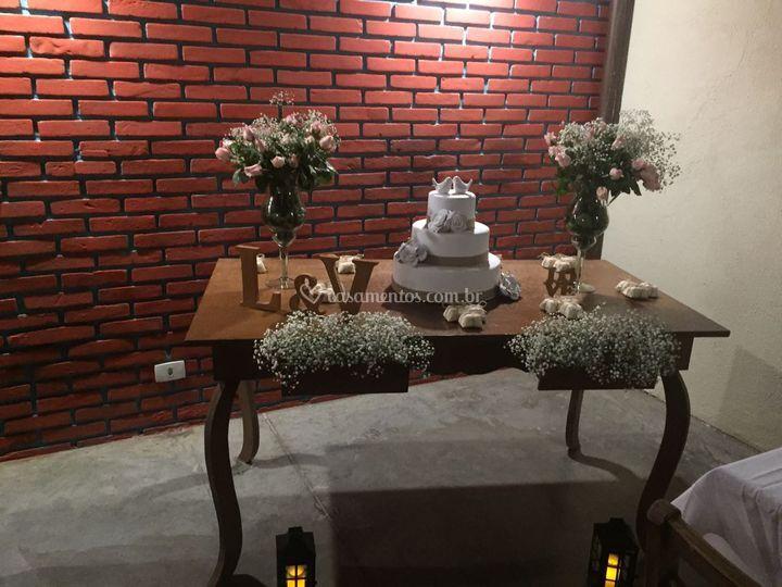 Exemplo Decoração Casamento