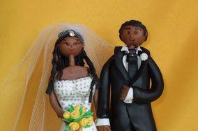 Cia dos noivos - Topo de bolo