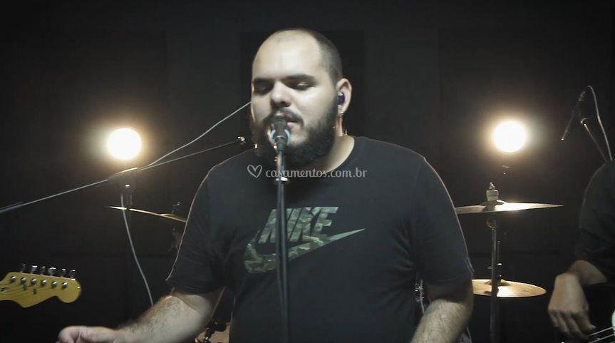 Banda Uhul em gravação