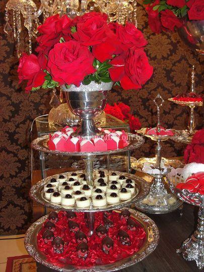 Peças para mesas de doces