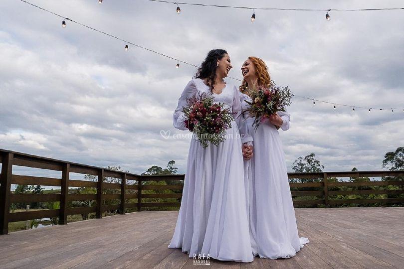 Elopement wedding Dai & Bruna