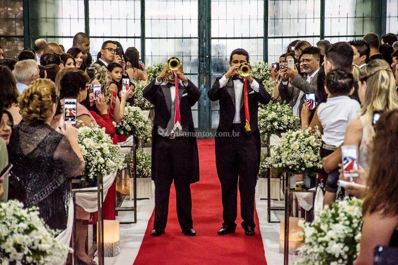 Anunciação da chegada da noiva