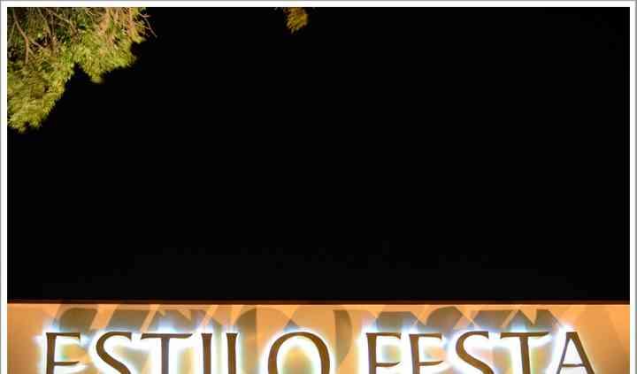 Logo estilo festa