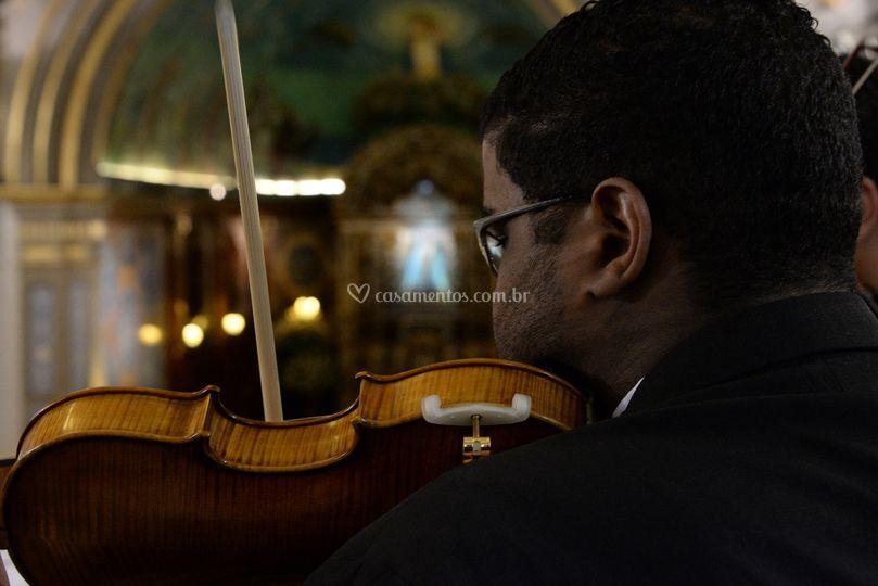Violinista coral