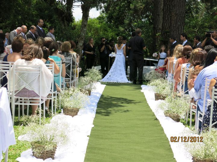 Casamento bosque do e Mosaico