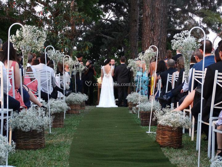 Cerimônia no bosque
