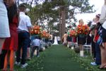 Casamento no bosque de Espa�o Mosaico
