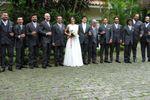 Foto com os padrinhos de Espa�o Mosaico