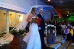 Casamento na ponte da piscina de Espa�o Mosaico