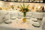Mesa de noivos de Agape Decora��es