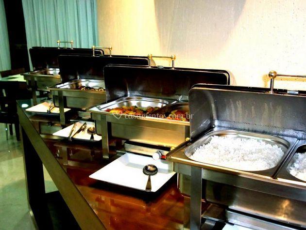 Buffet de quentes