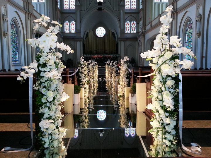 Cerimônia - Passadeira Espelho