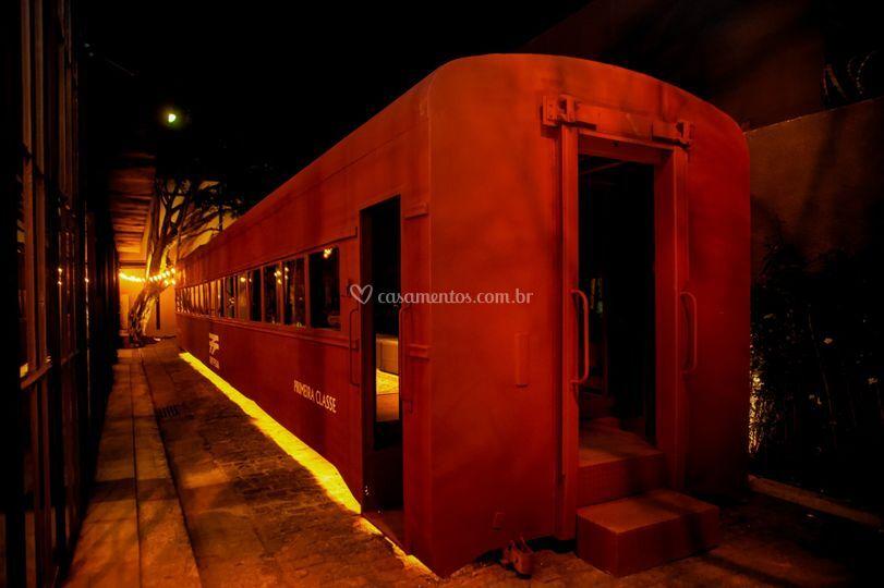 Vagão de trem/ Lounge