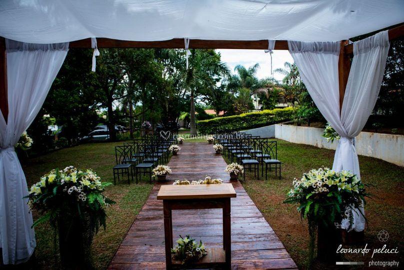Campo para cerimônia