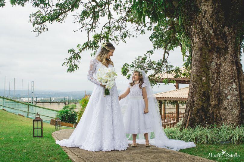 Noiva e Daminha